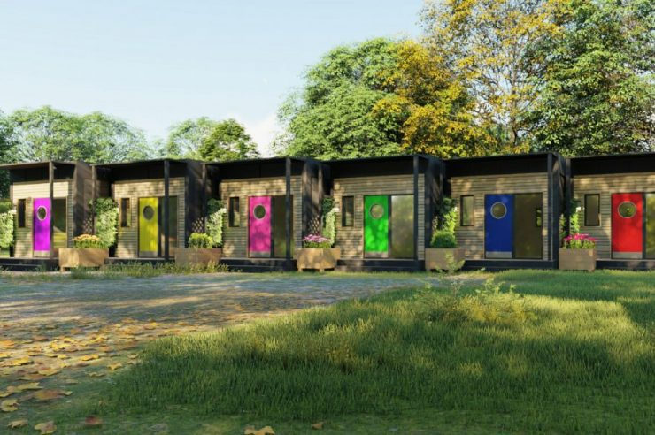 Image for 'They will change lives': the micro houses tackling homelessness in Cambridge