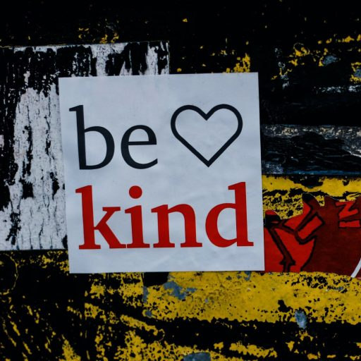 Being kind can help us through a crisis