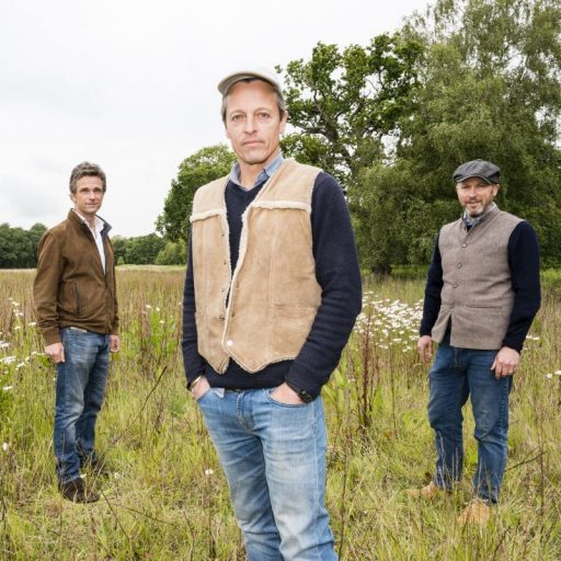 Hugh Somerleyton, Argus Hardy and Olly Birkbeck have launched a foundation to rewild East Anglia