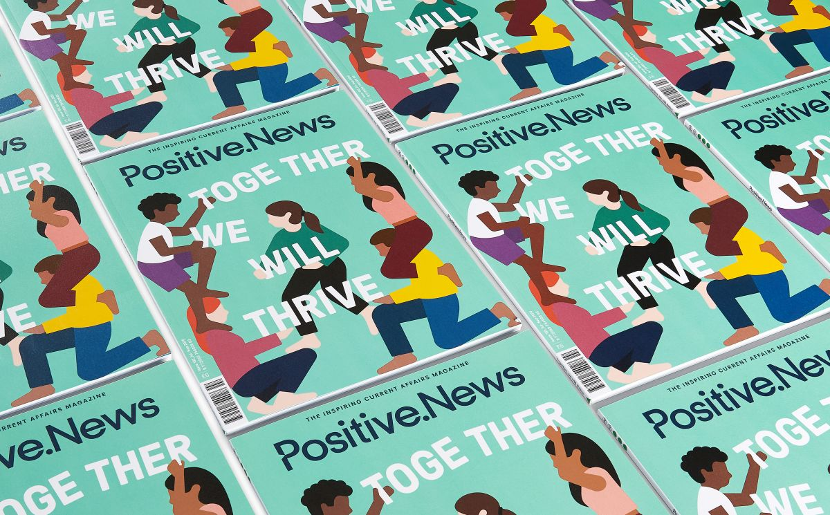 Latest issue of Positive News magazine offers inspiration for the new normal - positive