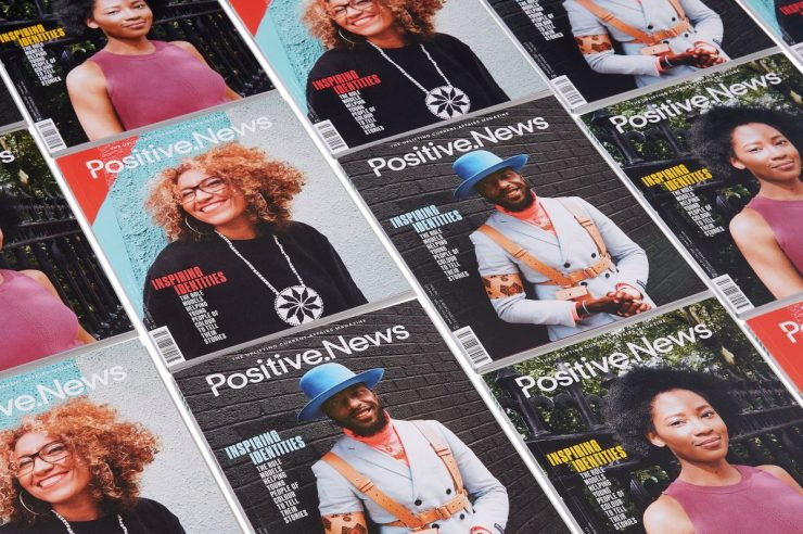 Image for New issue of Positive News features projects giving young people of colour a voice
