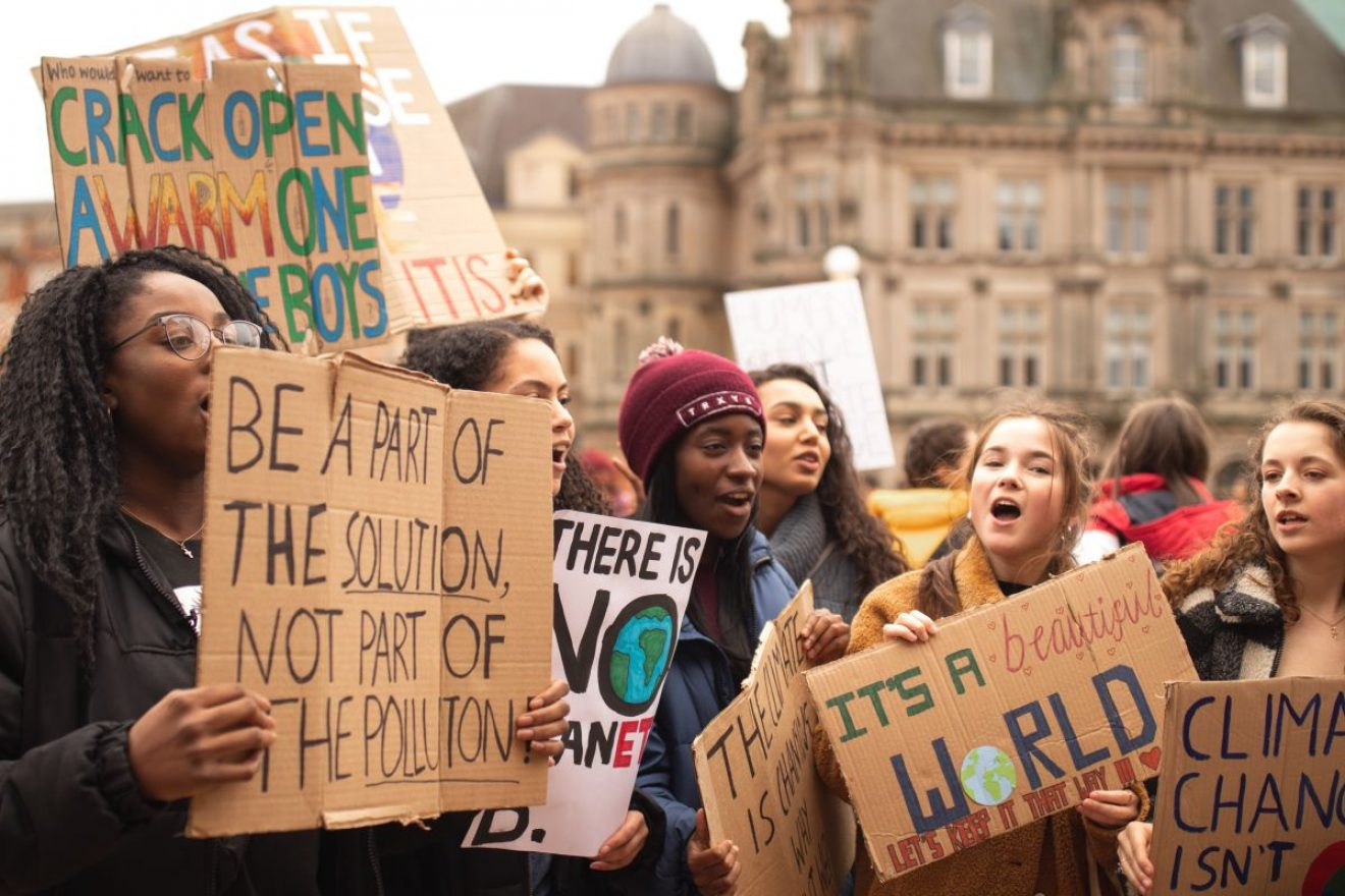 Image for The school children who drafted their own emergency climate bill