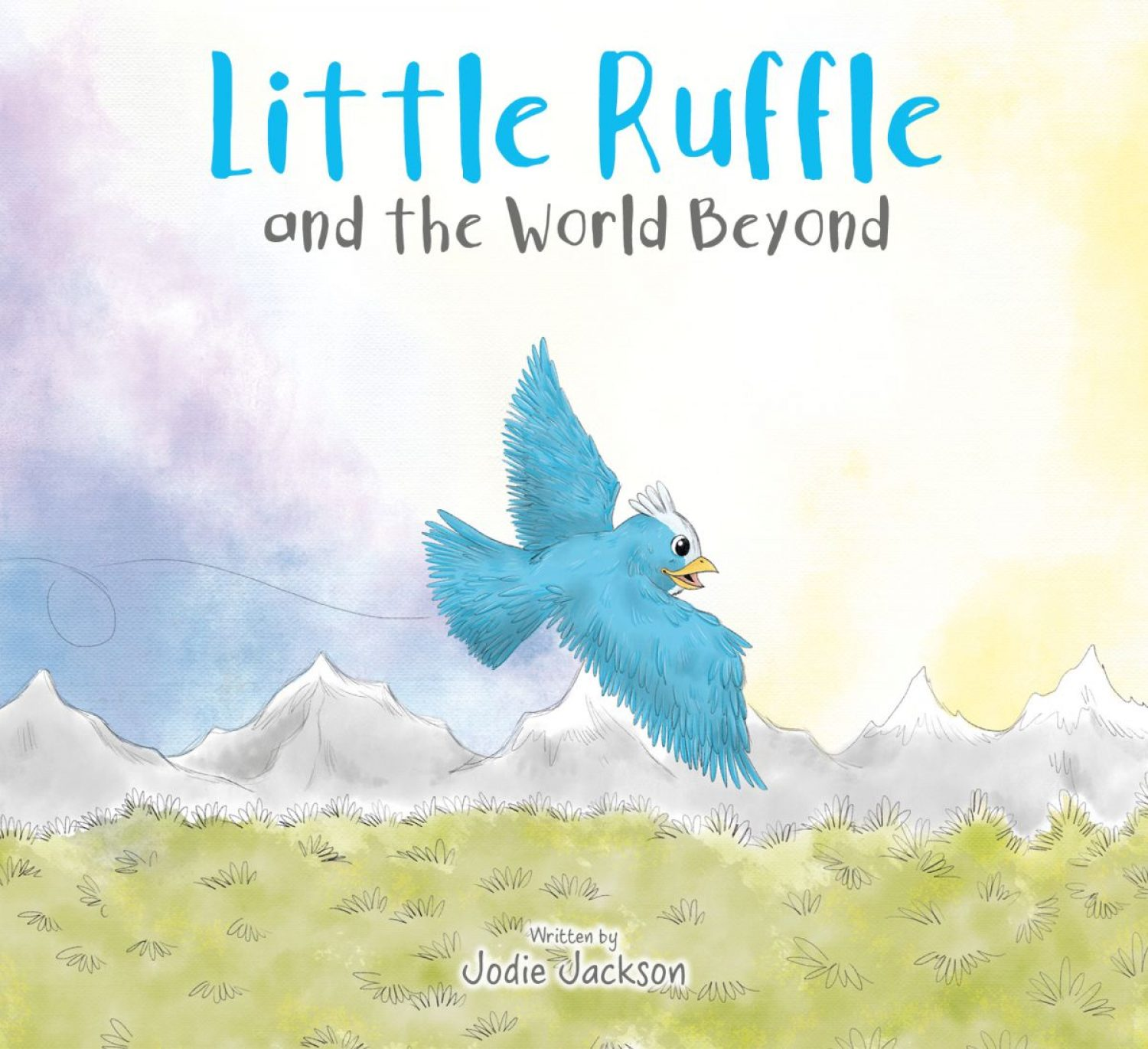 Little Ruffle and the World Beyond by Jodie Jackson comes out this week