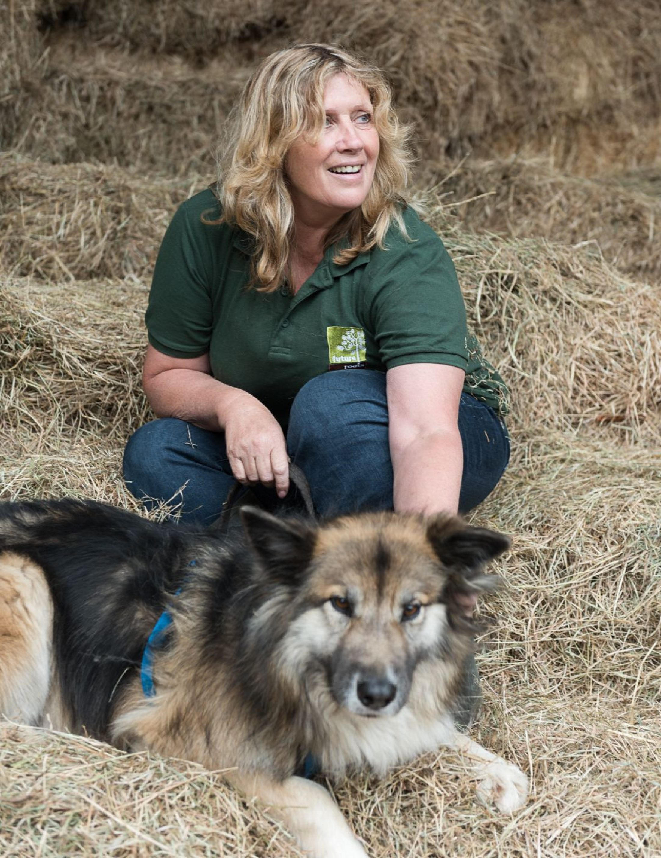Julie Plumley started a care farm after a career as a social worker
