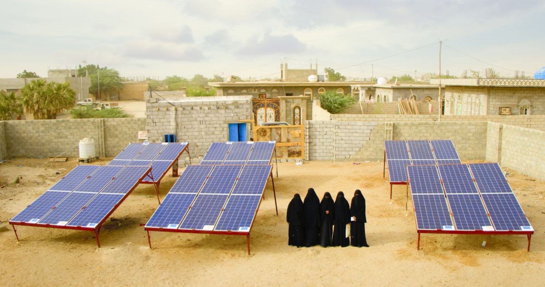 Image for 'The community respects us': how solar projects are empowering women in Yemen