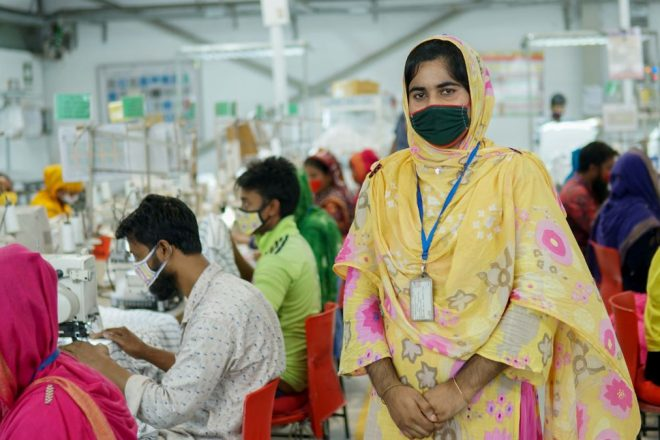 image for This business supports garment workers in Bangladesh by selling surplus clothes