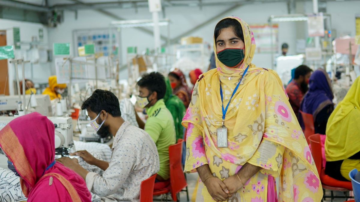 This business supports garment workers in Bangladesh by selling surplus clothes - positive