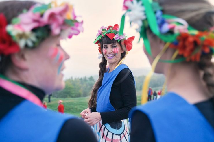 Image for The female Morris dancers redefining an old English tradition