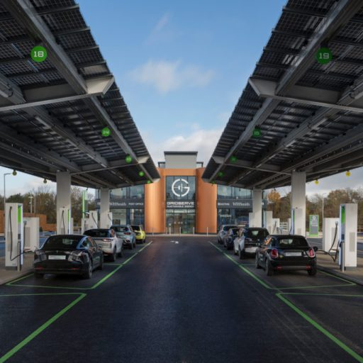 the UK's first Electric Forecourt