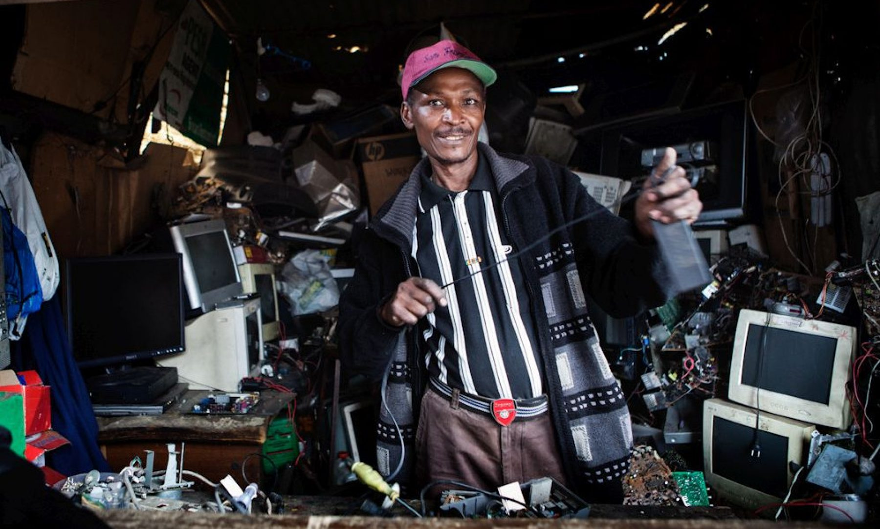 Image for How entrepreneurs in Africa are tackling the growing stream of e-waste