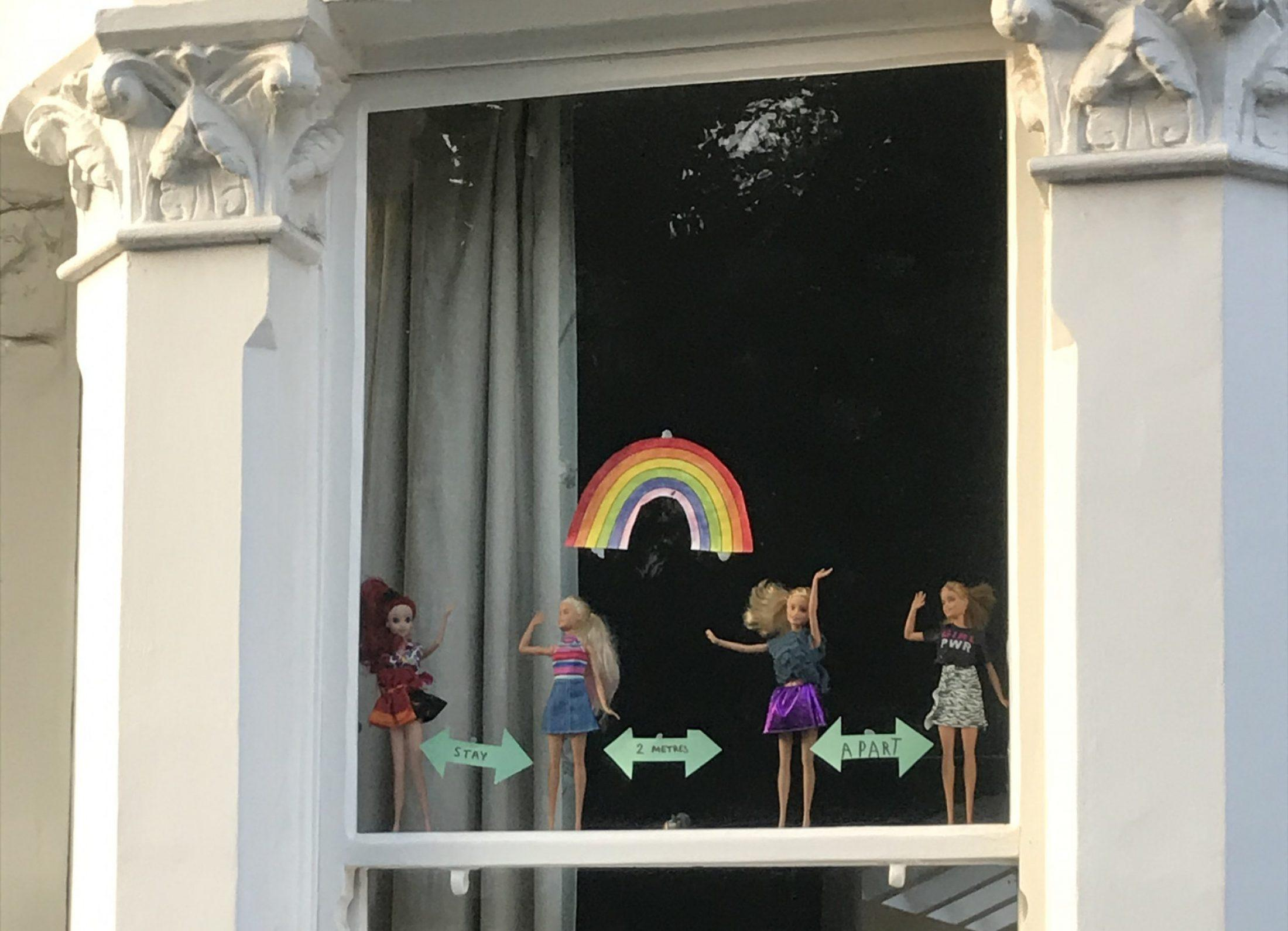 UK lockdown in pictures