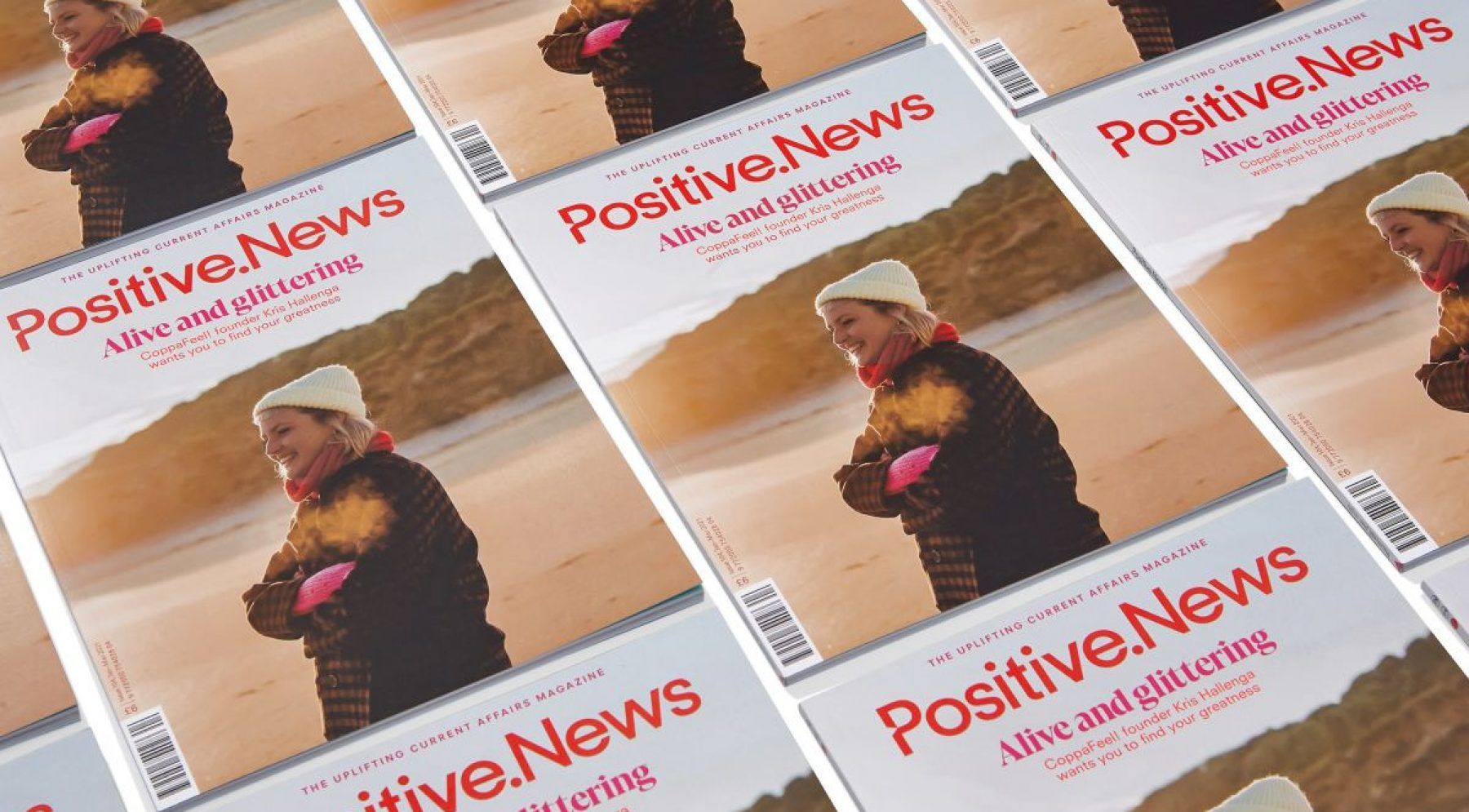 Image for Stories to help you stay resilient: new issue of Positive News offers respite during lockdown