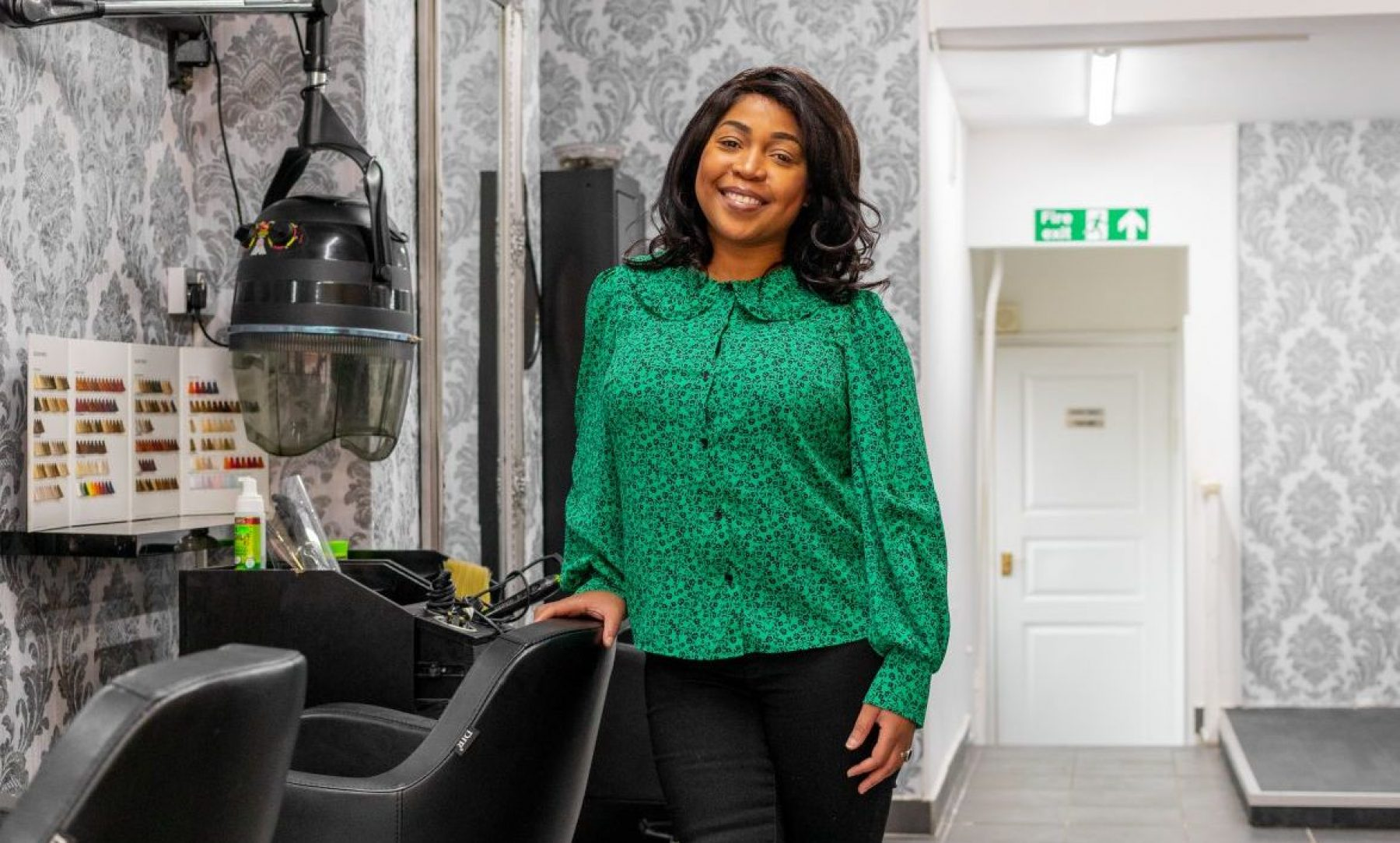 Image for Lifesaving small talk: the hairdressers trained to chat about organ donation