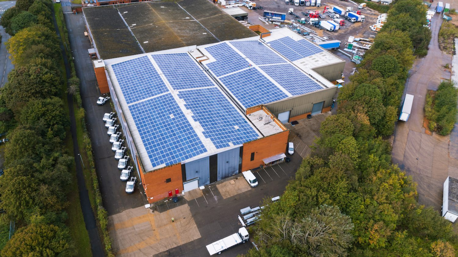 Solar installations for business