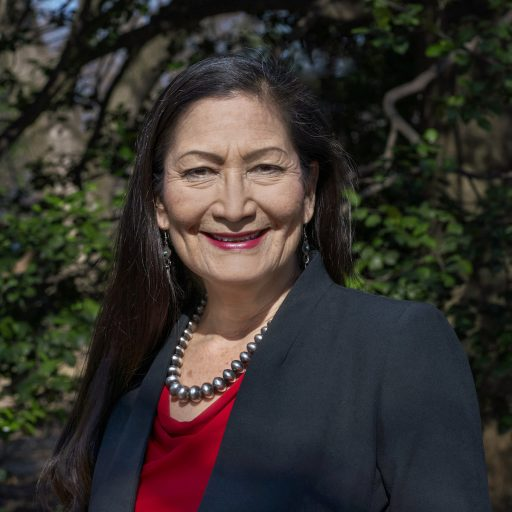 Deb Haaland became the first Indigenous US cabinet secretary this week