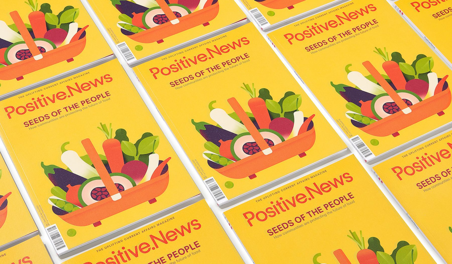 Image for A fresh start: new issue of Positive News helps people to look forward