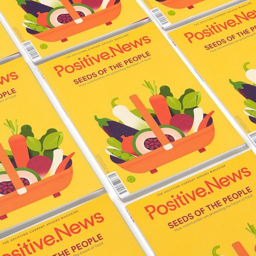 New issue of Positive News magazine out now