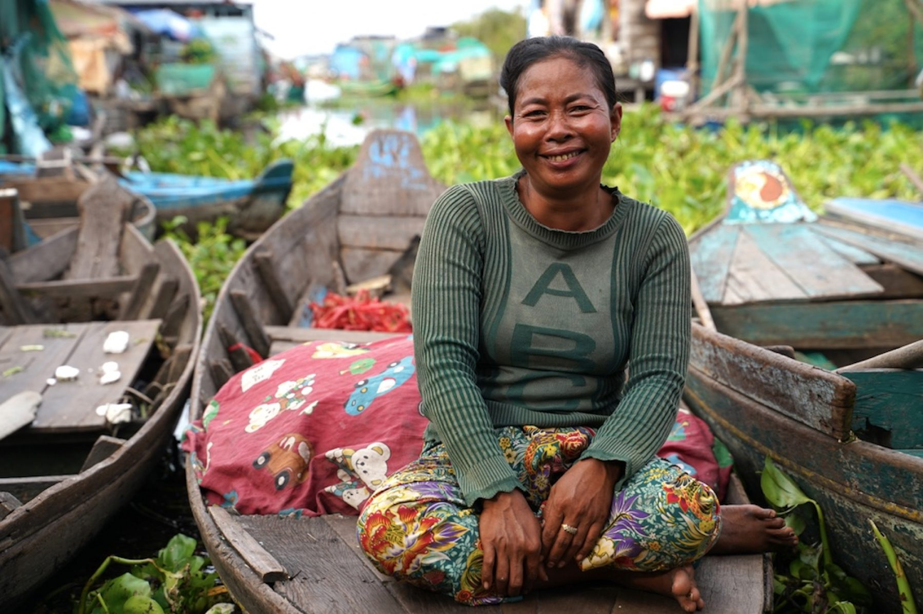 Image for How women in Cambodia's floating villages are adapting to climate change