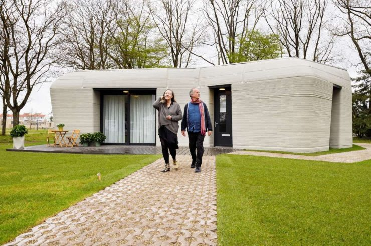 Image for What went right this week: Europe's first 3D-printed house, plus more positive news