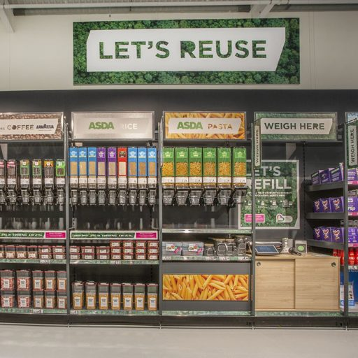 Positive news - A UK supermarket embraced the refill concept