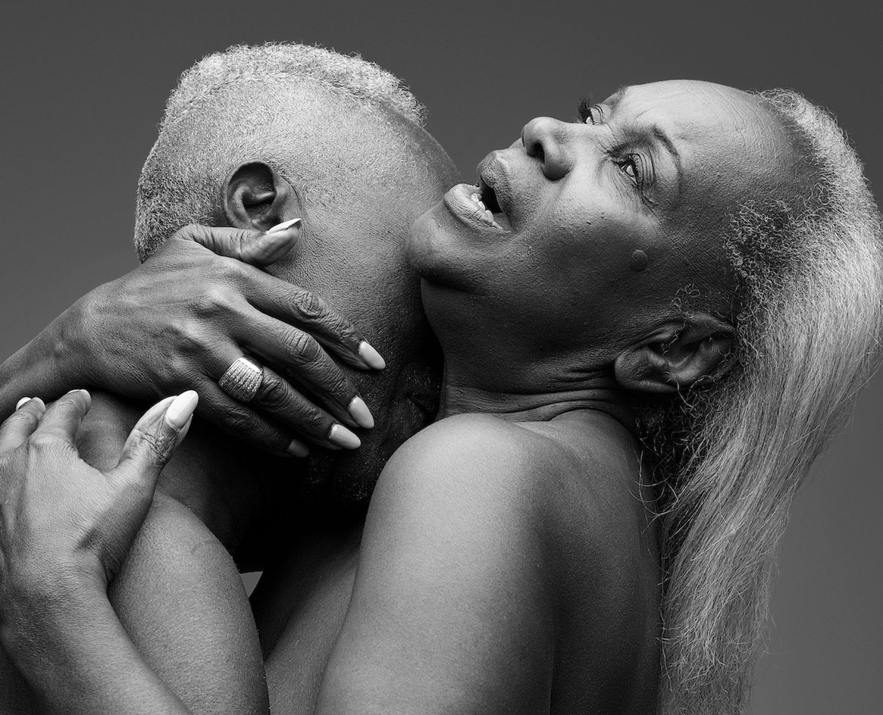 Image for 'Age is just a number': Rankin portraits celebrate sex in later life