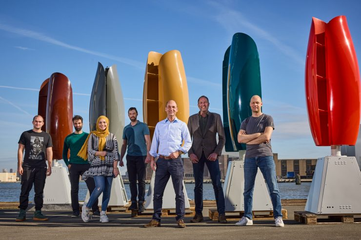 Image for Wind power firm aims to nip nimbyism in the bud with tulip-shaped turbines