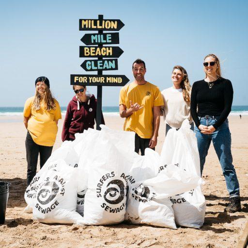Litter-picking groups