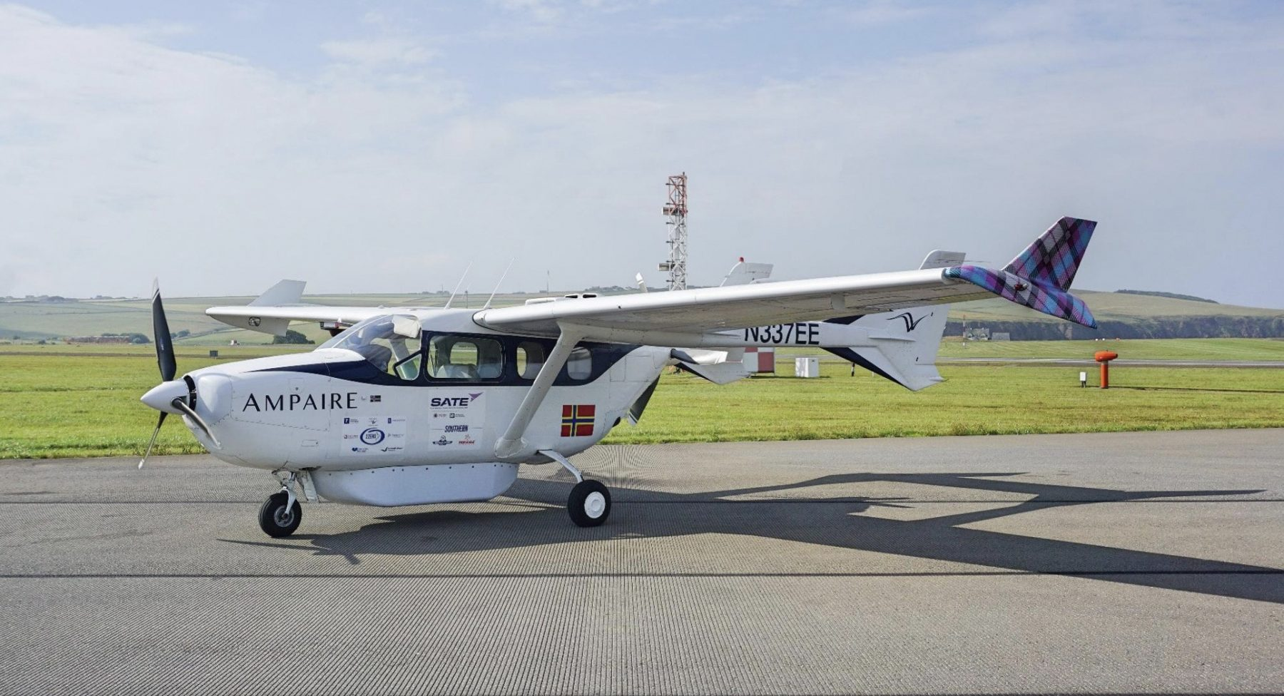 Image for 'An important step to decarbonising air travel': hybrid plane takes to UK skies