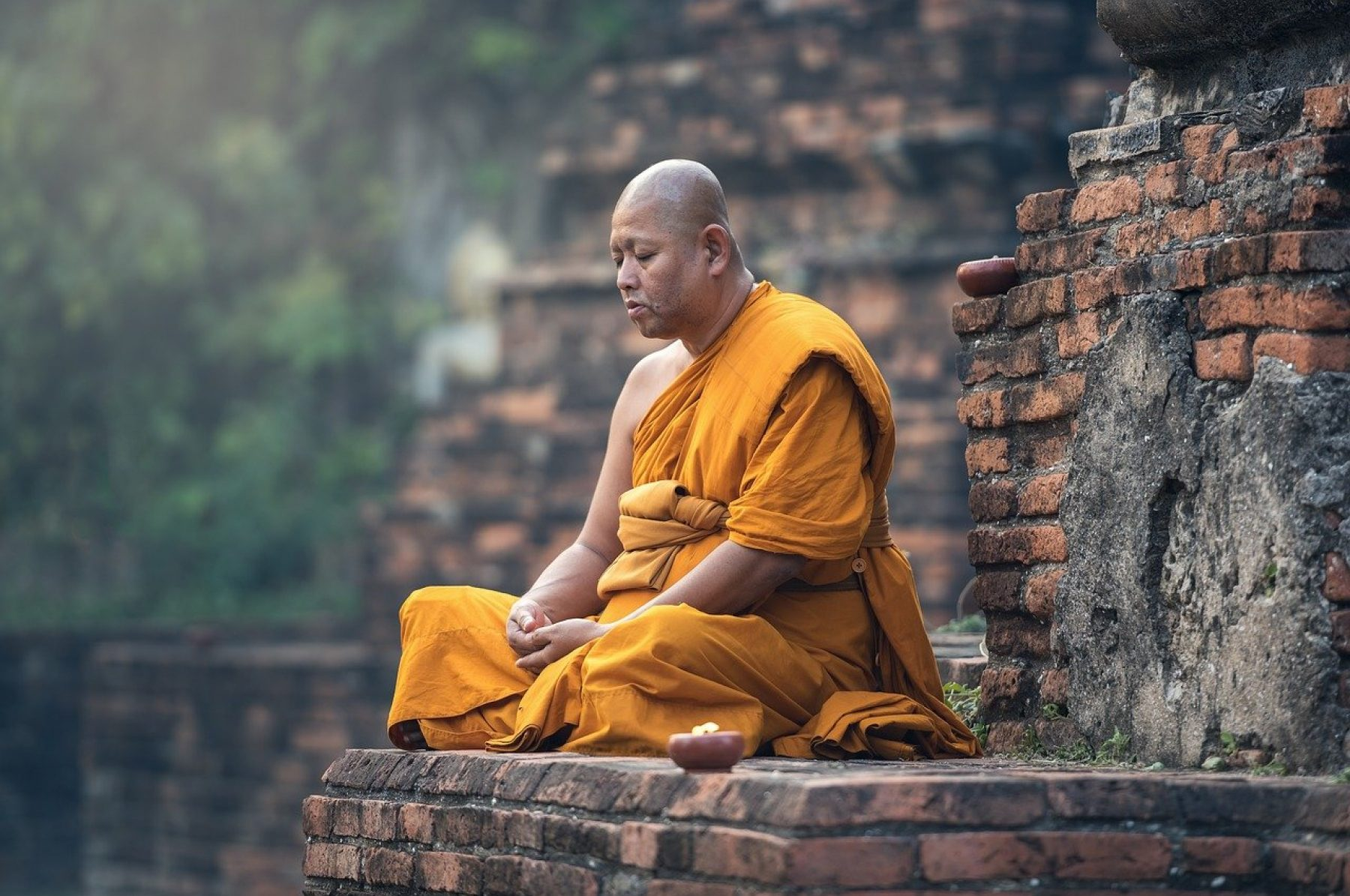 Image for Meditating makes your brain quicker, say scientists (plus how to meditate)