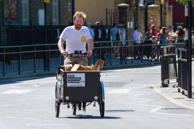 Image for The UK is about to get its first on-demand, e-cargo bike-sharing scheme
