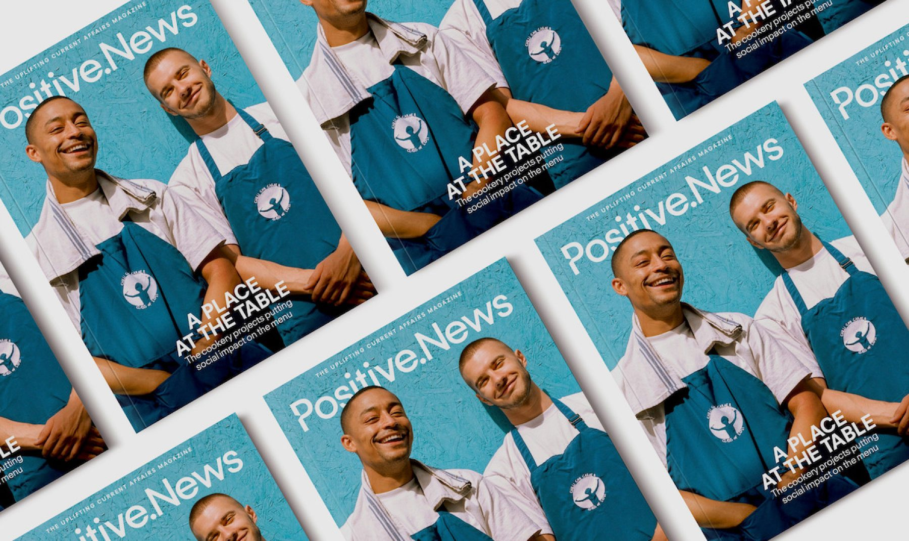 Image for Appetite for change: new issue of Positive News leads on cookery projects having a positive social impact