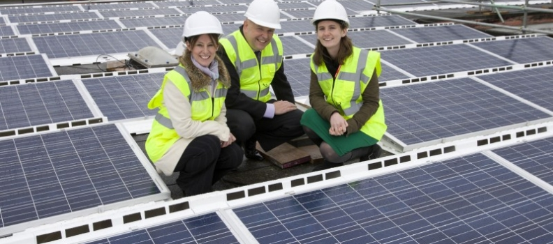 UK solar capacity almost doubled in 2014