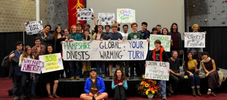 Two US colleges withdraw support for fossil fuels