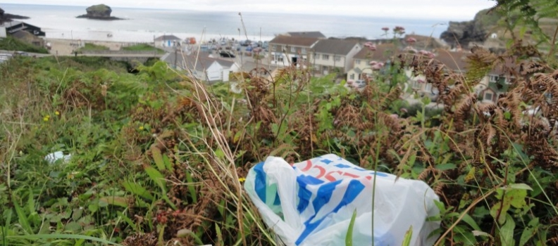Five pence plastic bag charge to be introduced in England