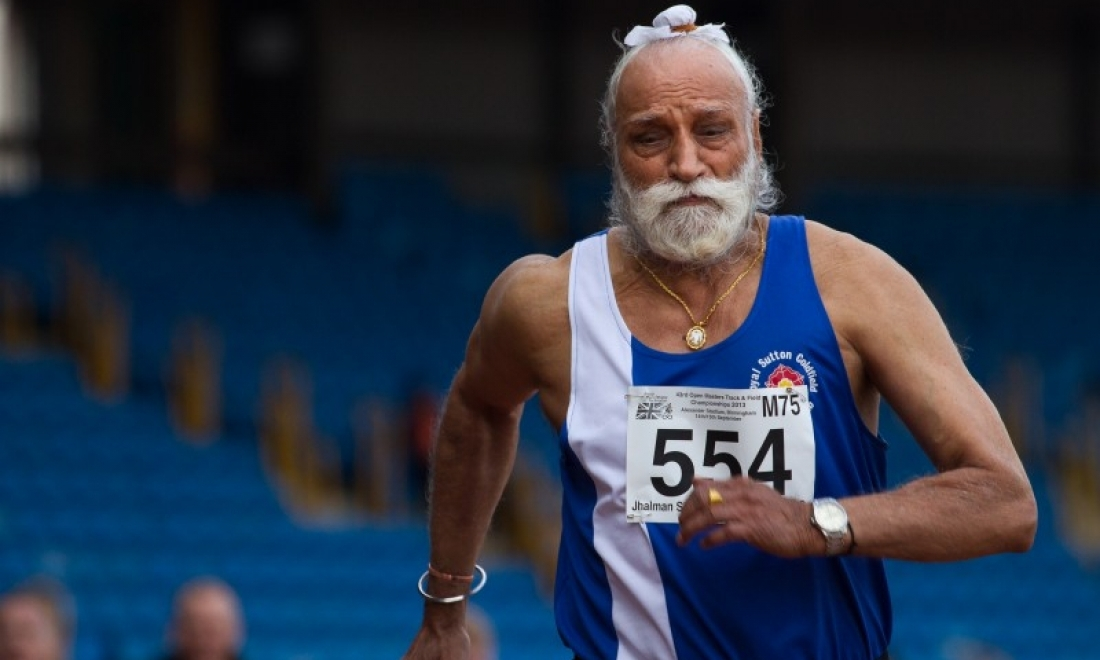 Elderly athletes defy age stigma