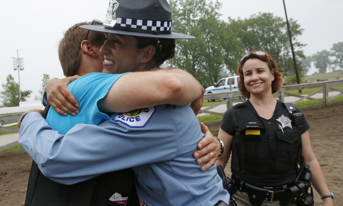 US police to learn compassion