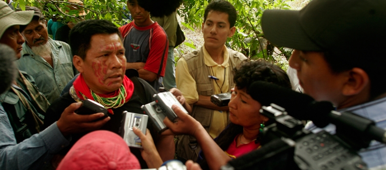 Victory for Ecuador's indigenous people as Chevron is fined $8.6bn for Amazon oil pollution