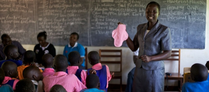 Five innovative projects promoting menstrual hygiene around the world