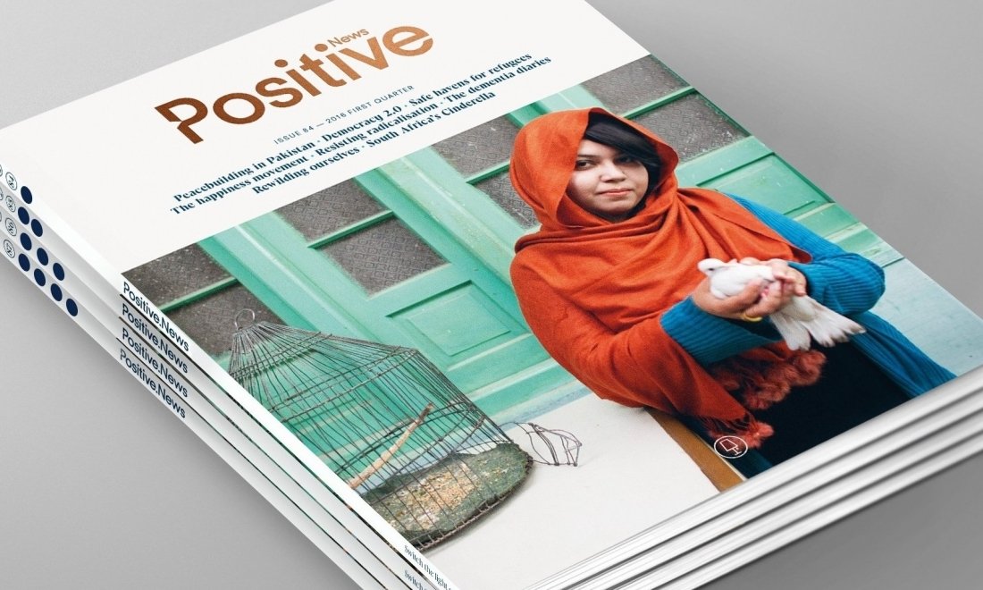 Positive News relaunches in print as a magazine